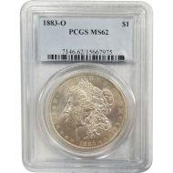 1883 O Morgan Dollar - PCGS MS 62