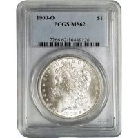 1900 O Morgan Dollar - PCGS MS 62