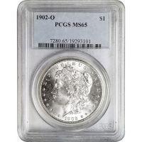 1902 O Morgan Dollar - PCGS MS 65