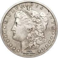 1890's Morgan Dollars - Very Good to Very Fine