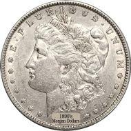 1890's Morgan Dollars - XF (Extra Fine)