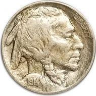 1914 Buffalo Nickel - XF (Extra Fine)