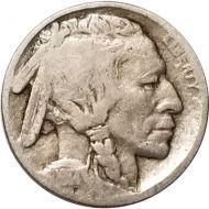 1914 D Buffalo Nickel - G (Good)