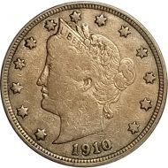 1910 Liberty Nickel - VF (Very Fine)
