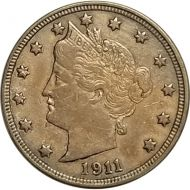 1911 Liberty Nickel - XF (Extra Fine)