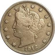 1912 D Liberty Nickel - Very Fine (Very Fine)