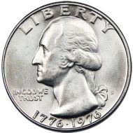 1976 S Washington Quarter - Brilliant Uncirculated 40% Silver