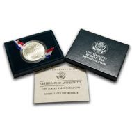 1991 Korean War Silver Uncirculated Dollar