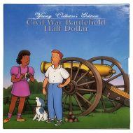 1995 Young Collector Civil War Battlefield Half Dollar