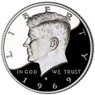 1969 Proof Kennedy Half Dollar