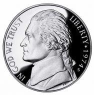 1974 Proof Jefferson Nickel