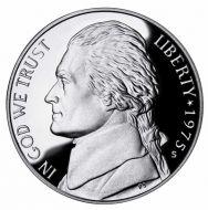 1975 Proof Jefferson Nickel