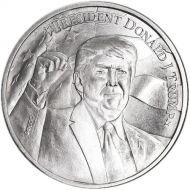 2020 Trump 1 oz Silver Round .999 Fine Silver