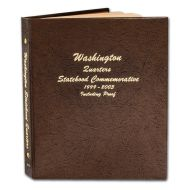 Dansco Washington Quarters Vol 1 1999 to 2003 w/Proofs - #8143