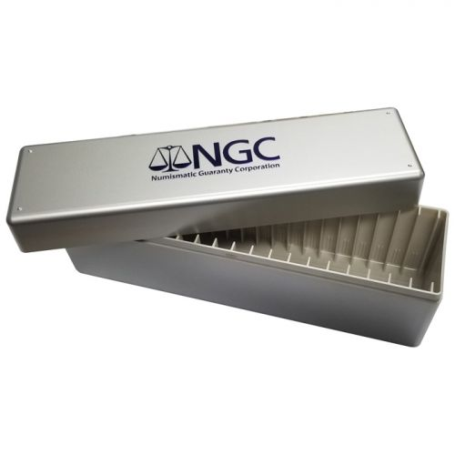 NGC Certified Coin Box