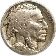 1914 D Buffalo Nickel - F (Fine) - Coin #1