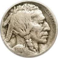 1914 D Buffalo Nickel - F (Fine) - Coin #2