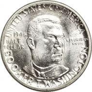1946 Booker T. Washington Half Dollar - BU (Brilliant Uncirculated)