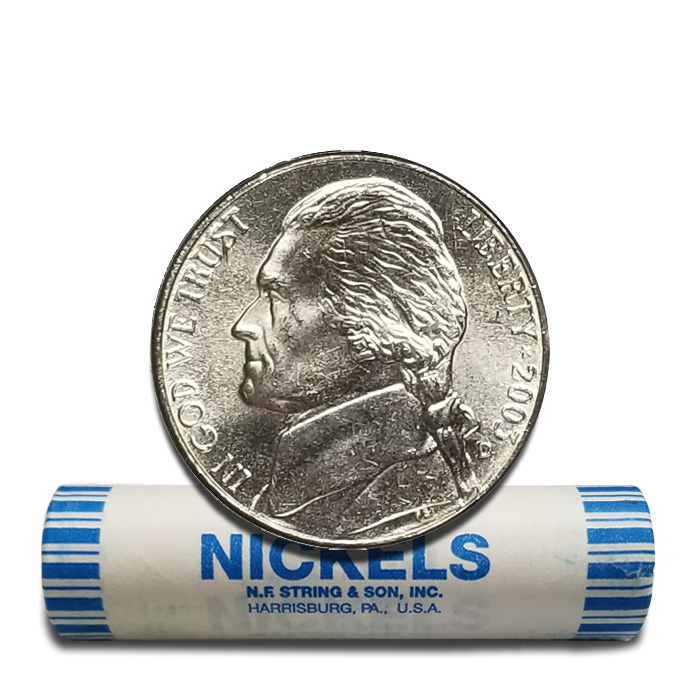 2003-D Uncirculated JEFFERSON NICKEL ROLL