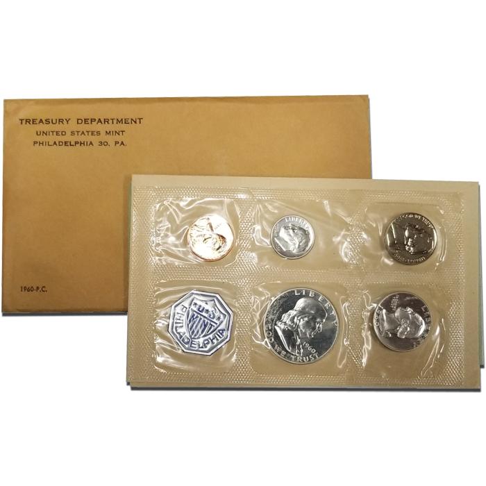 1960 Small Date U.S Mint Silver Proof Set
