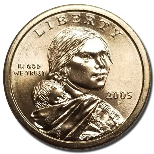 2005 P Sacagawea Golden Dollar From Mint Sets Combined Shipping