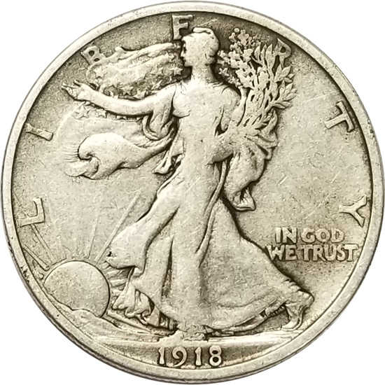 7 Silver Half Dollars Barber Walking Liberty Franklin Kennedy Washington 3