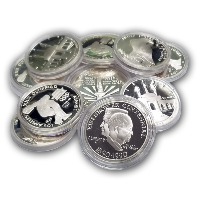 90/% silver Walking Libetys mixed dates